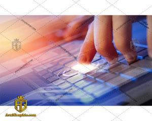 عکس با کیفیت تایپ با کیبورد مناسب برای طراحی و چاپ - عکس تایپ - تصویر تایپ - شاتر استوک تایپ - شاتراستوک تایپ
