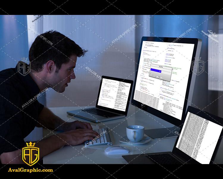 عکس با کیفیت برنامه نویس حرفه ای مناسب برای طراحی و چاپ - عکس برنامه نویس - تصویر برنامه نویس - شاتر استوک برنامه نویس - شاتراستوک برنامه نویس