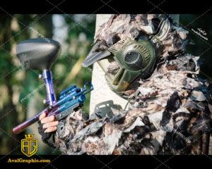 عکس با کیفیت تفنگ پینت بال مناسب برای طراحی و چاپ - عکس تفنگ - تصویر تفنگ - شاتر استوک تفنگ - شاتراستوک تفنگ