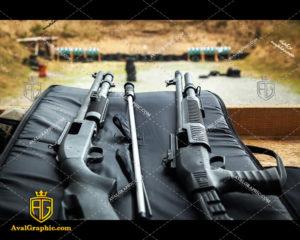 عکس با کیفیت تفنگ های مشکی مناسب برای طراحی و چاپ - عکس تفنگ - تصویر تفنگ - شاتر استوک تفنگ - شاتراستوک تفنگ