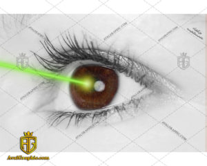 عکس لیزر چشم رایگان مناسب برای چاپ و طراحی با رزو 300 - شاتر استوک لیزر - عکس با کیفیت لیزر - تصویر لیزر - شاتراستوک لیزر