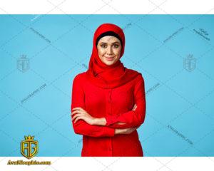 عکس با کیفیت خانم با حجاب مودب مناسب برای طراحی و چاپ - عکس خانم مودب - تصویر خانم مودب - شاتر استوک خانم مودب - شاتراستوک خانم مودب