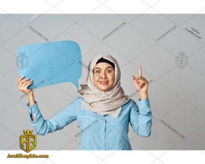 عکس با کیفیت نظر خانم با حجاب