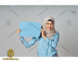 عکس با کیفیت نظردهی خانم باحجاب مناسب برای طراحی و چاپ - عکس نظردهی خانم - تصویر نظردهی خانم - شاتر استوک نظردهی خانم - شاتراستوک نظردهی خانم