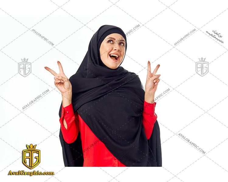 عکس با کیفیت تبلیغاتی خانم با حجاب مناسب برای طراحی و چاپ - عکس خانم با حجاب - تصویر خانم با حجاب - شاتر استوک خانم با حجاب
