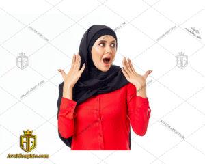 عکس با کیفیت هیجان خانم با حجاب مناسب برای طراحی و چاپ - عکس خانم با حجاب - تصویر خانم با حجاب - شاتر استوک خانم با حجاب
