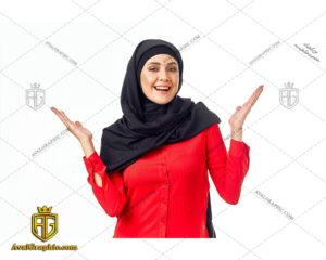 عکس با کیفیت خانم مسلمان خندان مناسب برای طراحی و چاپ - عکس خانم مسلمان - تصویر خانم مسلمان - شاتر استوک خانم مسلمان - شاتراستوک خانم مسلمان
