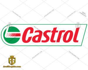 دانلود لوگو (آرم) شرکت نفت و روغن کاسترول - دانلود نماد کاسترول , آرم کاسترول مناسب برای استفاده در طراحی های شما