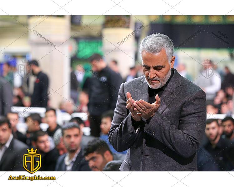 شاتر استوک قنوت سردار شهید سلیمانی