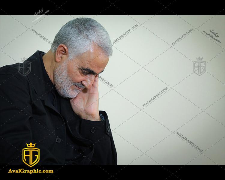 شاتر استوک سردار سلیمانی لباس مشکی