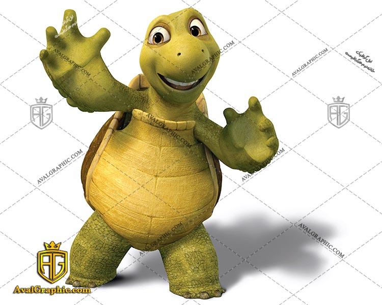 عکس کارتونی لاکپشت