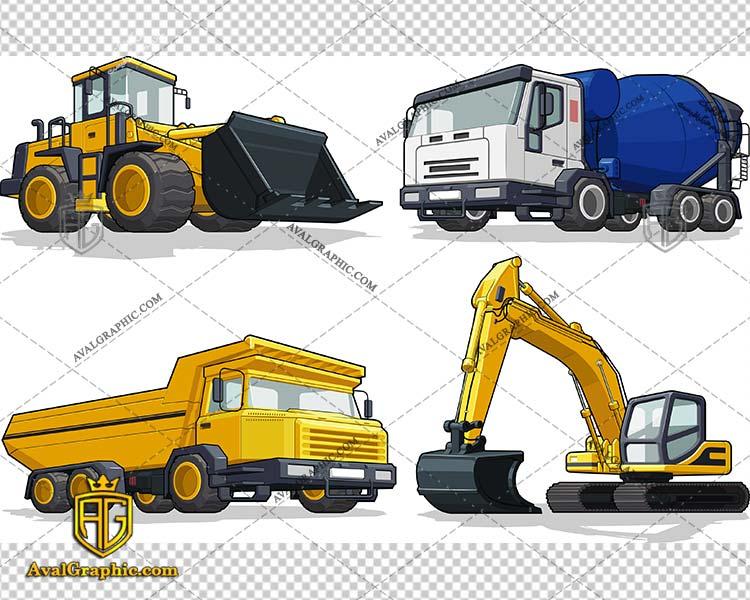 وکتور ماشین حمل و بلدوزر - دانلود وکتور ماشین، تصاویر برداری و طرح های برداری مناسب برای طراحی و چاپ