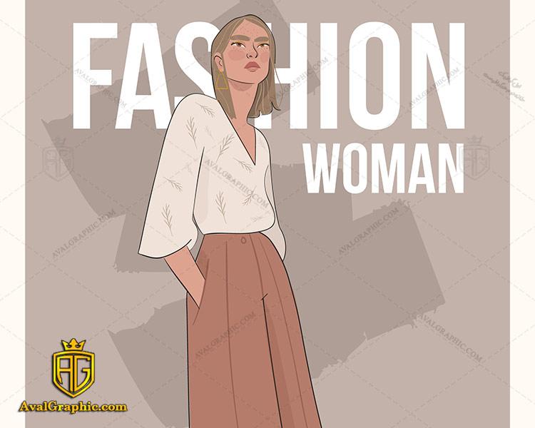 وکتور پیراهن سفید زنانه - دانلود وکتور لباس زنانه، تصاویر برداری و طرح های برداری مناسب برای طراحی و چاپ