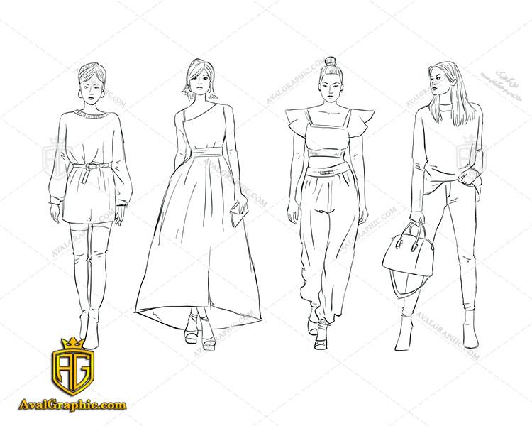 وکتور نقاشی لباس زنانه - دانلود وکتور لباس زنانه، تصاویر برداری و طرح های برداری مناسب برای طراحی و چاپ