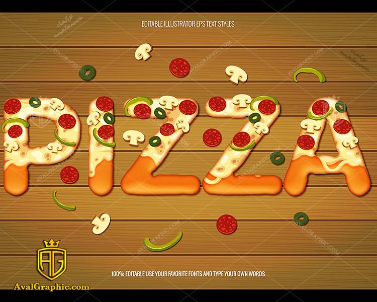 وکتور پیتزا طرح تابلو - دانلود وکتور پیتزا، تصاویر برداری و طرح های برداری مناسب برای طراحی و چاپ