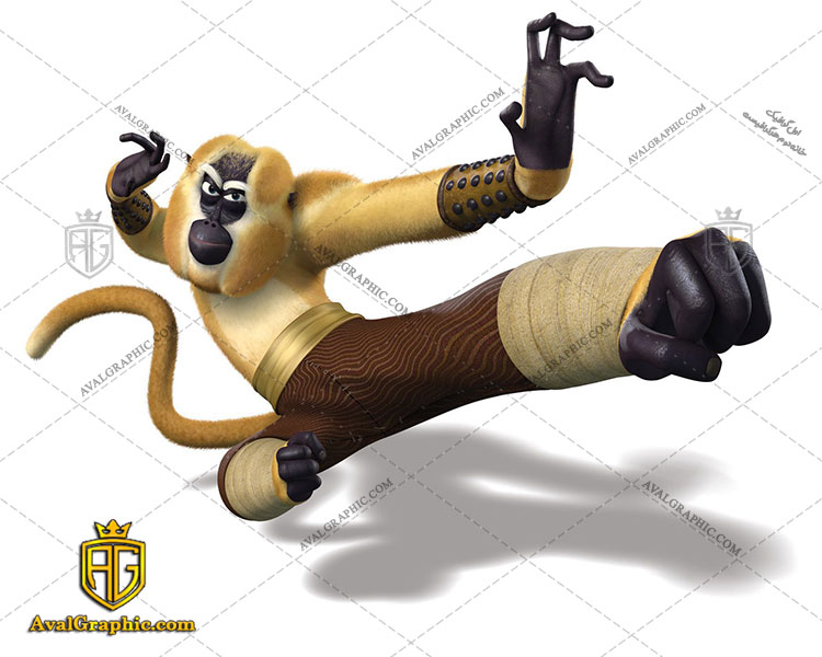 طرح کاغذ دیواری میمون قابل چاپ و استفاده بعنوان کاغذ دیواری یا عکس باکیفیت کارتونی میباشد.