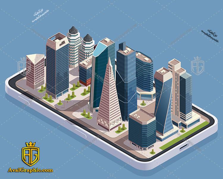 وکتور ساختمان آسمان خراش - دانلود وکتورساختمان، تصاویر برداری و طرح های برداری مناسب برای طراحی و چاپ