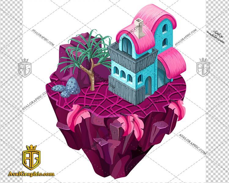 وکتور خانه فانتزی - دانلود وکتور خانه، تصاویر برداری و طرح های برداری مناسب برای طراحی و چاپ