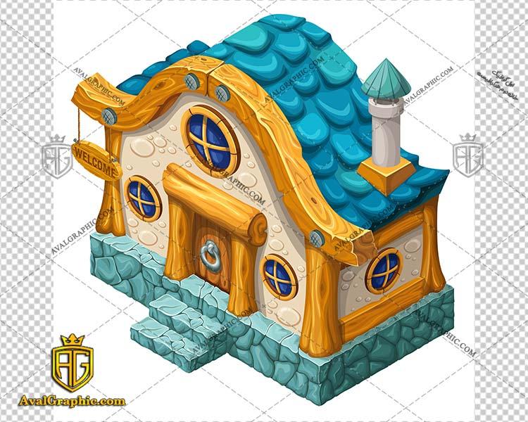 وکتور خانه چوبی رنگی - دانلود وکتور خانه، تصاویر برداری و طرح های برداری مناسب برای طراحی و چاپ