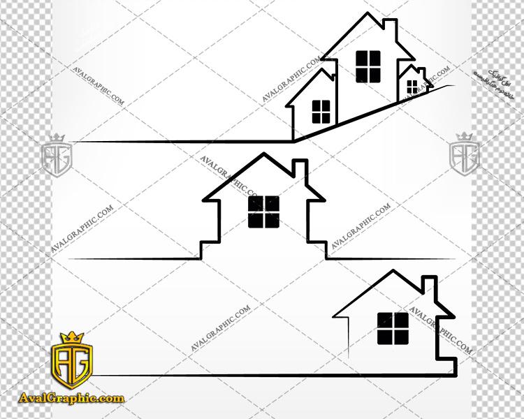 وکتور خانه های ویلایی خطی - دانلود وکتور خانه، تصاویر برداری و طرح های برداری مناسب برای طراحی و چاپ