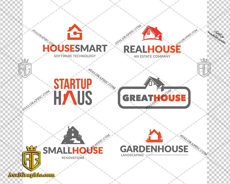 وکتور خانه لوگوی نارنجی و مشکی - دانلود وکتور خانه، تصاویر برداری و طرح های برداری مناسب برای طراحی و چاپ