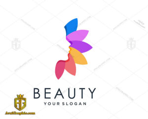 لوگو آرایشگاه زنانه هنری چند رنگ