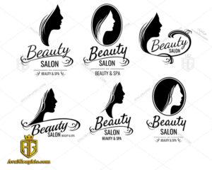 لوگو آرایشگاه زنانه و سالن زیبایی