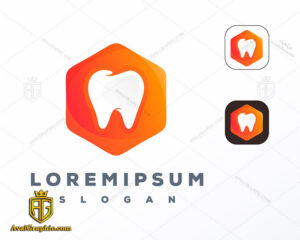 لوگو (آرم) مطب دندانپزشکی