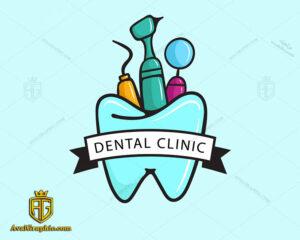 لوگو و نشان درمانگاه دندانپزشکی