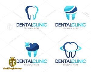 لوگو کلینیک دندانپزشکی ایده آل