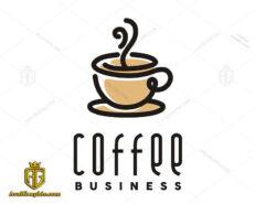 لوگو کافی شاپ و تجارت قهوه
