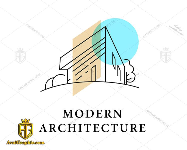 لوگو شرکت ساختمانی و معماری مدرن