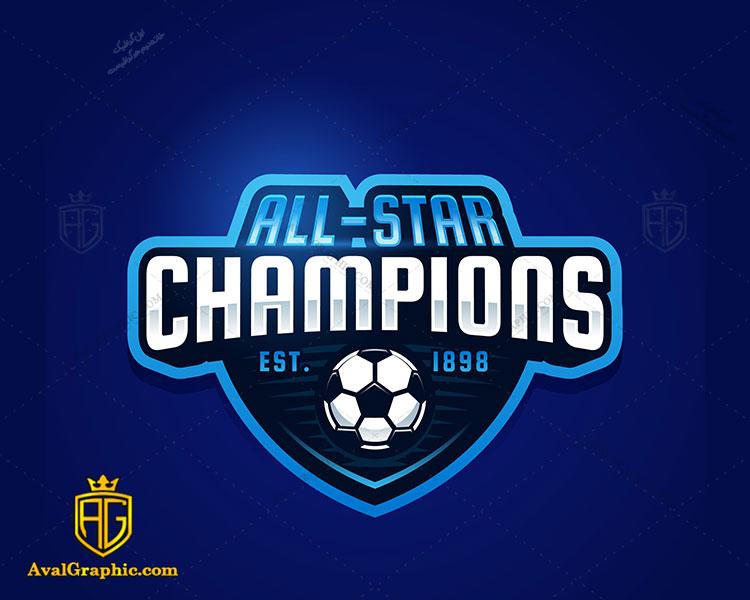 لوگو فوتبال و فوتسال تمام ستاره