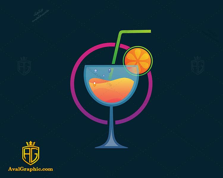 طراحی لوگو نوشیدنی طبیعی