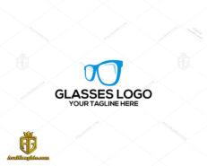 لوگو لایه باز عینک فروشی