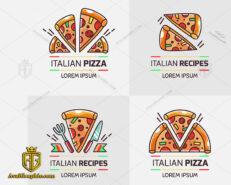 طراحی لوگو فست فود ایتالیایی