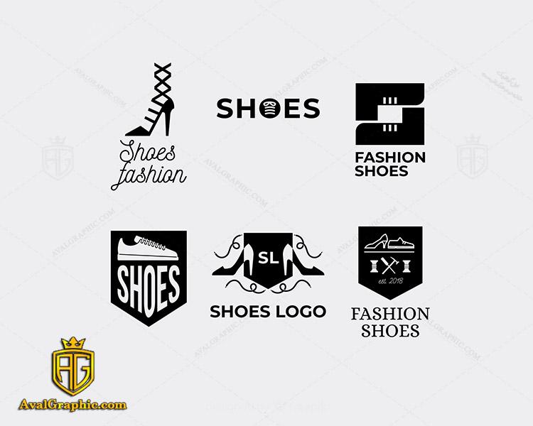 لوگو کفش فروشی زیبا