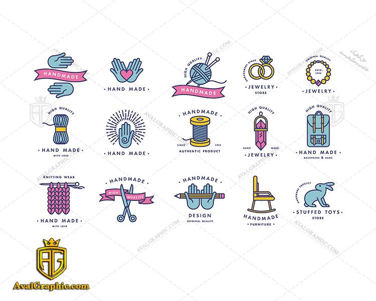 مجموعه لوگو با موضوع خیاطی