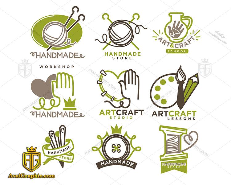 لوگو های رنگی خیاطی