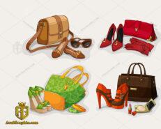 دانلود لوگو فروشگاه کیف و کفش زنانه