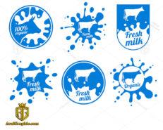 لوگو لبنیات و شیر تازه