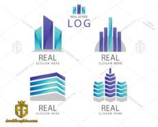 لوگو شرکت ساختمانی سه رنگ