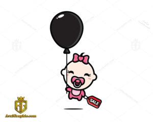 لوگو برند سیسمونی نوزاد