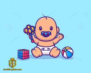لوگو اسباب بازی کودک