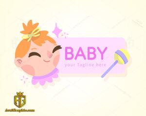 لوگو خاص سیسمونی نوزاد