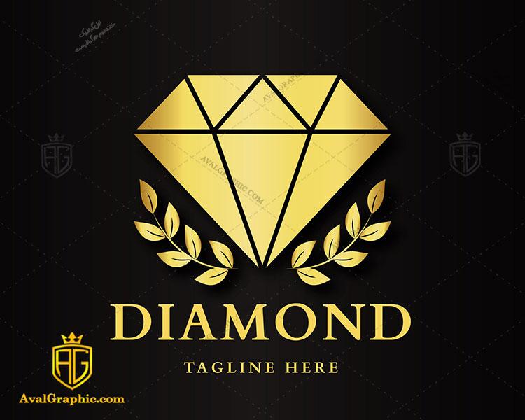 لوگو لایه باز الماس