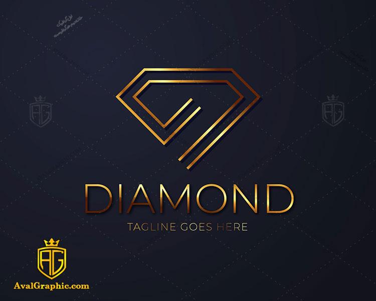 لوگو با طرح الماس