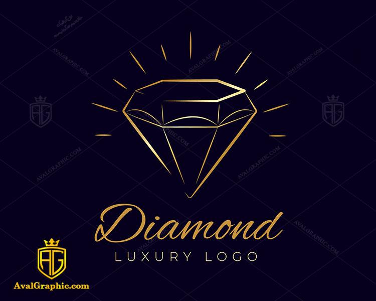 طراحی لوگو الماس