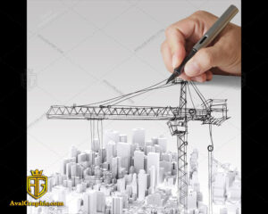 عکس با کیفیت طراح جرثقیل مناسب برای طراحی و چاپ - عکس مهندس - تصویر مهندس - شاتر استوک مهندس - شاتراستوک مهندس