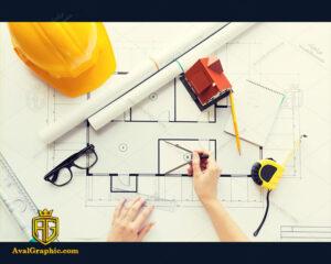 عکس با کیفیت رسم نمودار مناسب برای طراحی و چاپ - عکس مهندس - تصویر مهندس - شاتر استوک مهندس - شاتراستوک مهندس